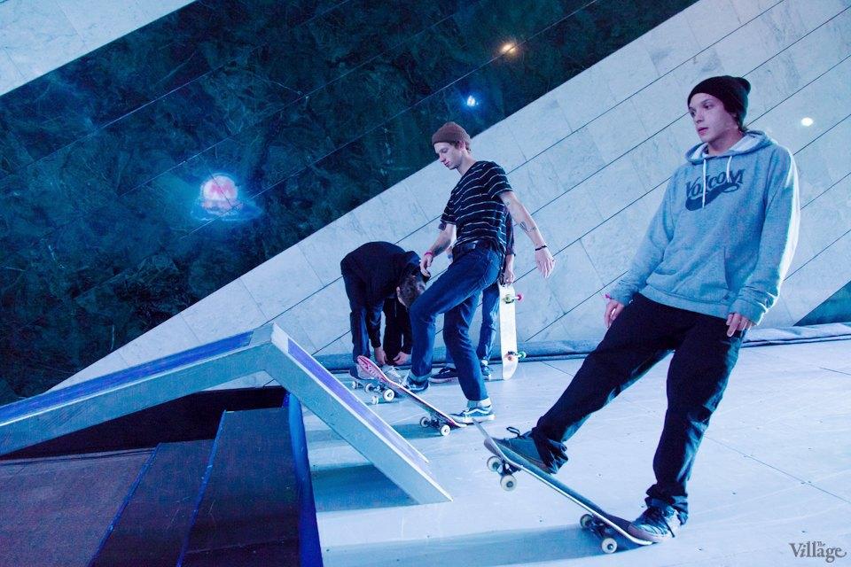 Фото ночи: Скейтерский чемпионат в метро. Изображение № 19.
