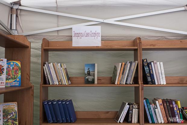 В ЦПКиО открылась летняя библиотека на воздухе. Изображение № 4.