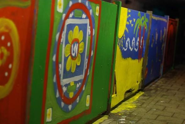 Добровольцы разукрасили туннель около «Винзавода». Изображение № 9.