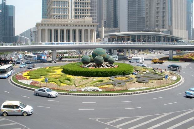 Идеи для города: Круглый пешеходный мост в Шанхае. Изображение № 11.