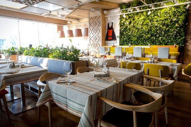 Ресторан Андрея Деллоса «Фаренгейт», второе кафе «Одесса-мама, ресторан болгарской кухни Red Pepper. Изображение № 2.