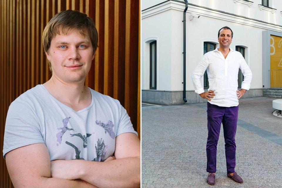 Директор по маркетингу Алексей Колесников и гендиректор Виктор Лысенко. Изображение № 3.