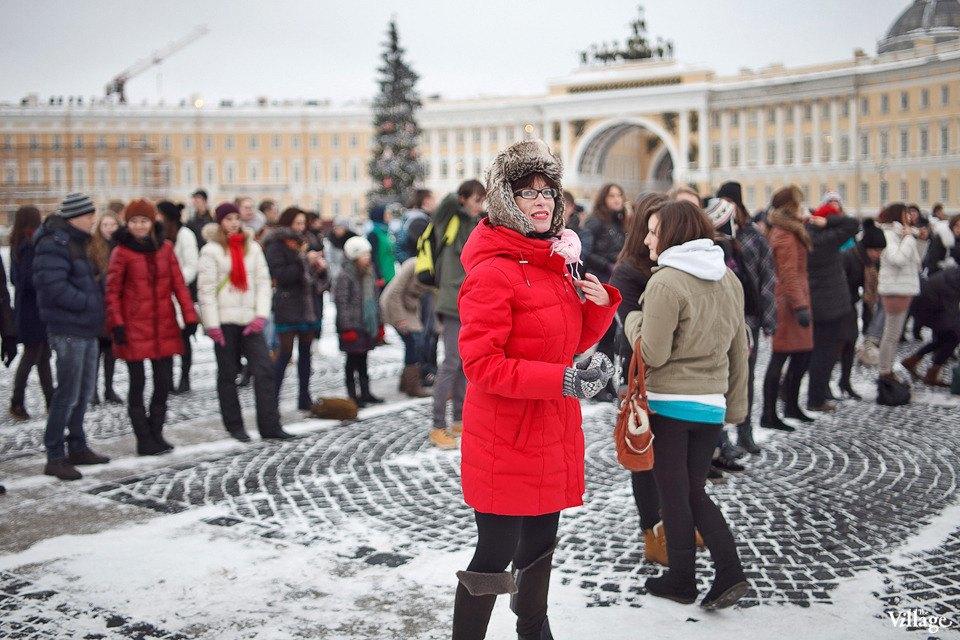 Фоторепортаж: Gangnam Style и зарядка на Дворцовой площади. Изображение № 27.