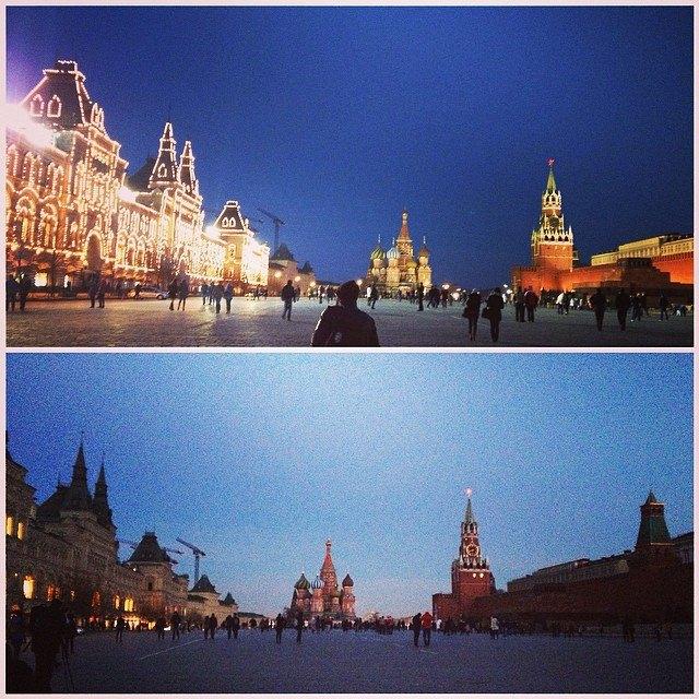 Акция «Час Земли» вМоскве вснимках Instagram. Изображение № 8.