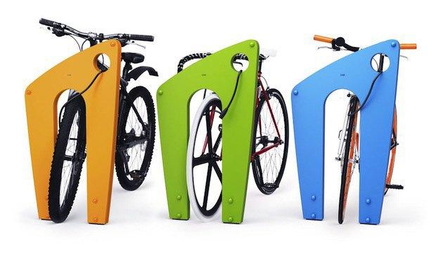 «Студия Лебедева» разработала дизайн велопарковок. Изображение № 2.