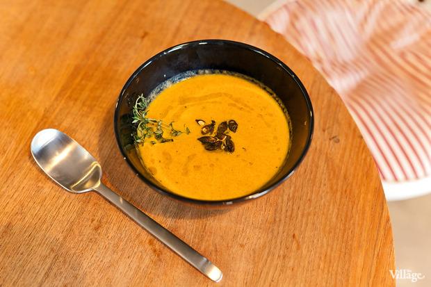 Морковно-имбирный крем-суп — 90 рублей. Изображение № 17.