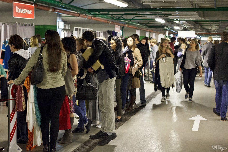 Люди в городе: Посетители Garage Sale о выгодных и спонтанных покупках. Изображение № 24.