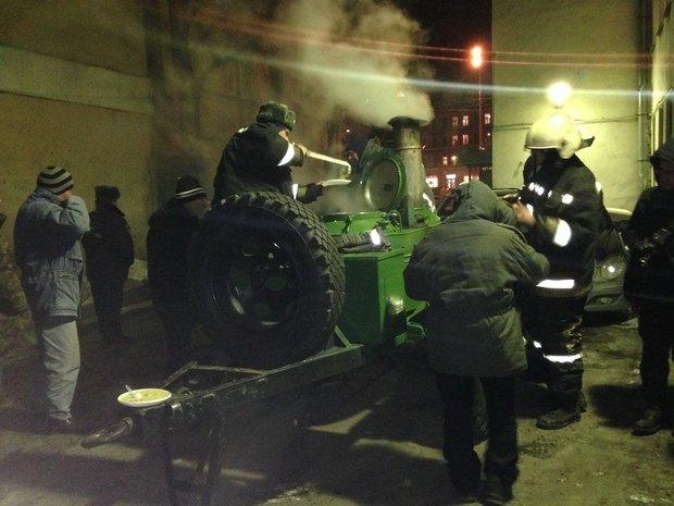 МЧС открывает пункты горячего питания для бездомных. Изображение № 1.
