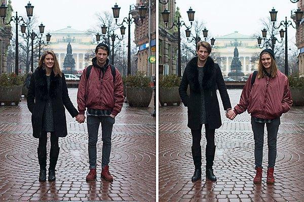 В Петербурге сняли аналог фотопроекта Switcharoo. Изображение № 8.