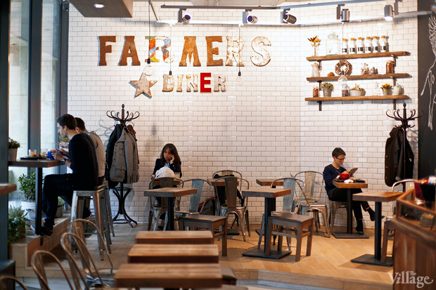 Кафе Farmer'sDiner. Изображение № 1.
