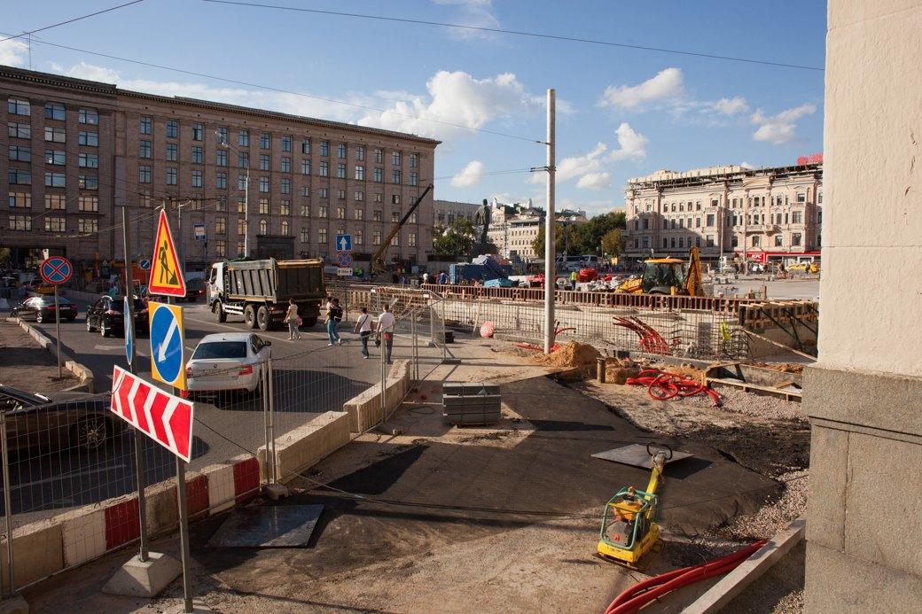 Её раскопали: Пешеходные улицы Москвы за месяц до открытия. Изображение № 36.