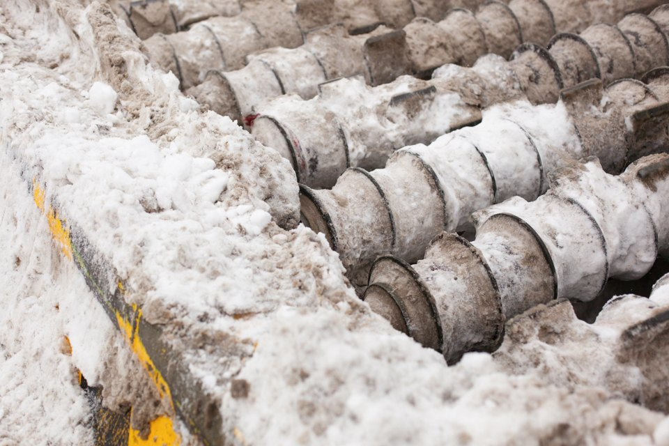 Летел и таял: Как в Москве плавят снег. Изображение № 12.