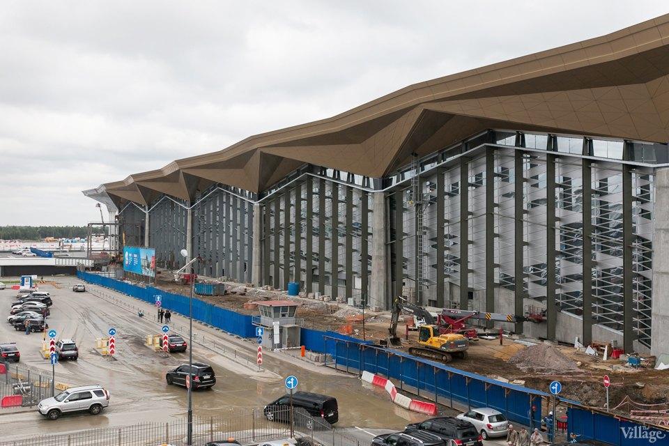Фоторепортаж: Новый аэропорт изнутри. Изображение № 26.