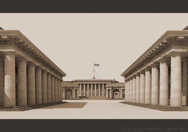 У судебного квартала наПетроградской стороне сменится архитектор. Изображение № 4.