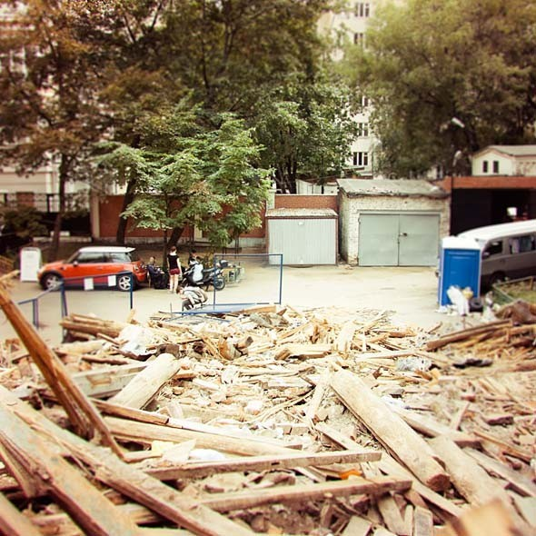 В зоне риска: жилой дом в Большом Козихинском переулке. Изображение № 5.