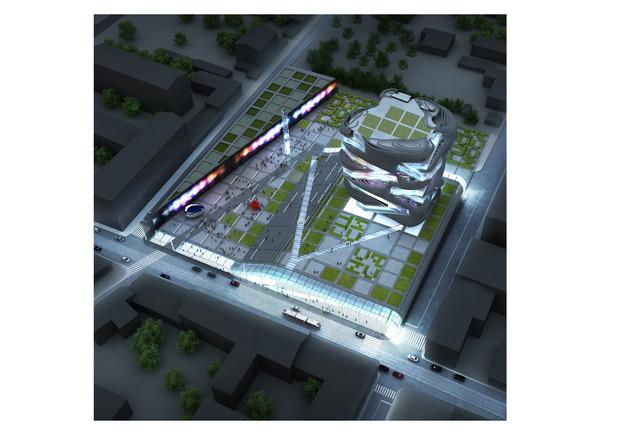 Реализацию проекта нового здания ГЦСИ приостановили. Изображение № 1.