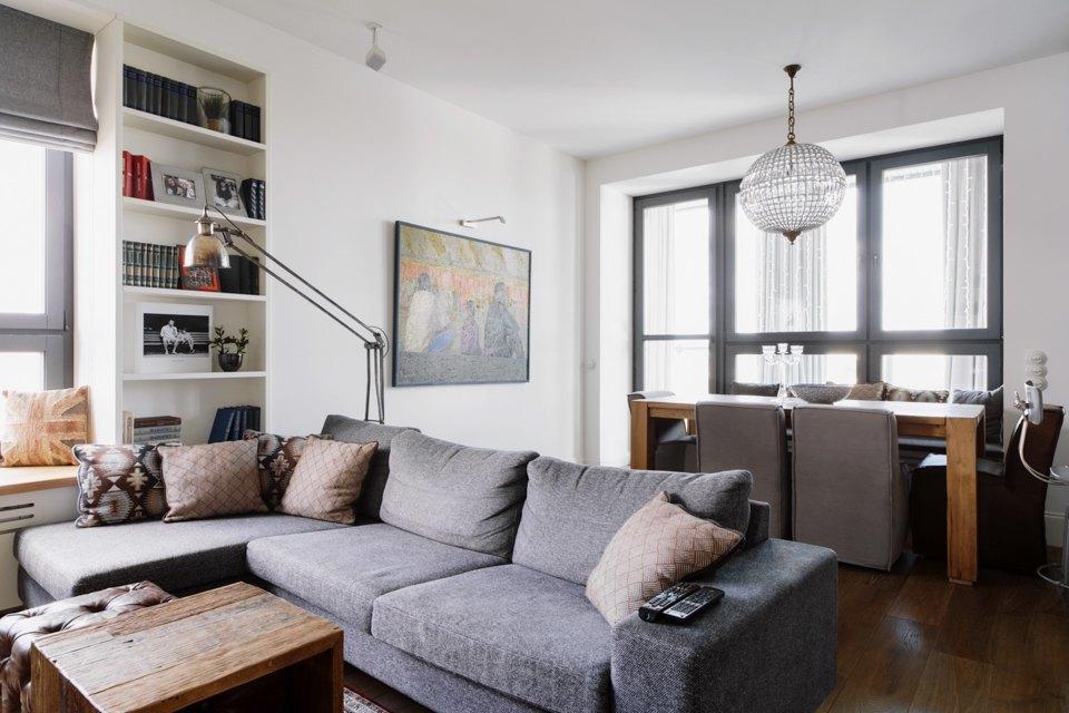 Четырёкомнатная квартира в американском стиле для семьи сдвумя детьми. Изображение № 14.