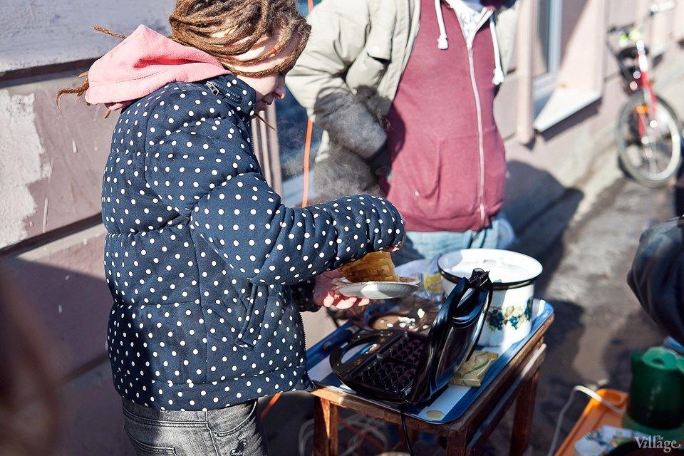 Фоторепортаж: Как открыть своё временное кафе на улице. Изображение № 4.