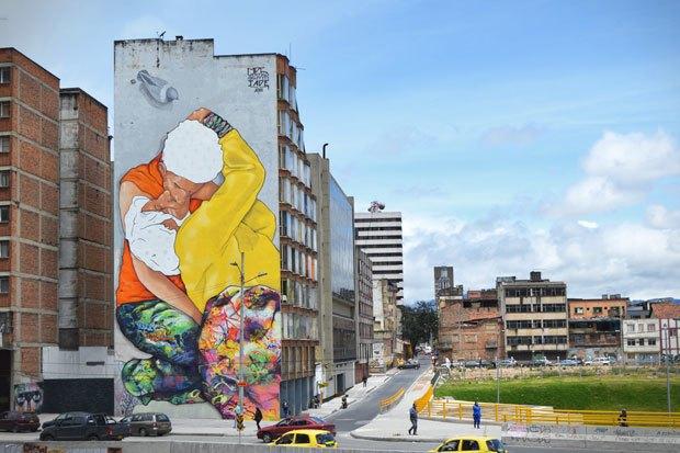 Граффити, изменившие улицы Колумбии, Франции, Турции иВенгрии. Изображение № 2.