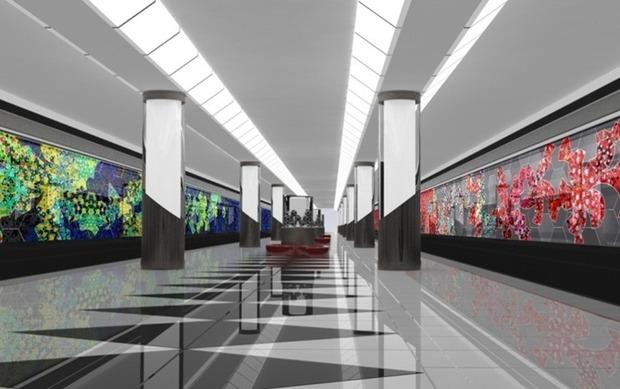 Станции метро предложили облицевать стеклом. Изображение № 1.