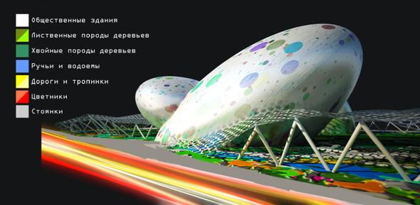 Москомархитектура выбрала 118 проектов парка в Зарядье. Изображение № 3.