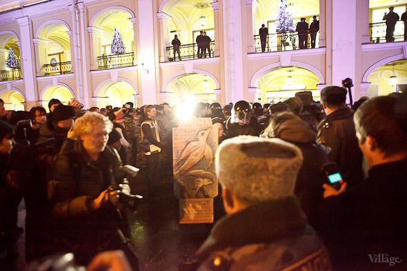 Хроника выборов: Нарушения, цифры и два стихийных митинга в Петербурге. Изображение № 38.