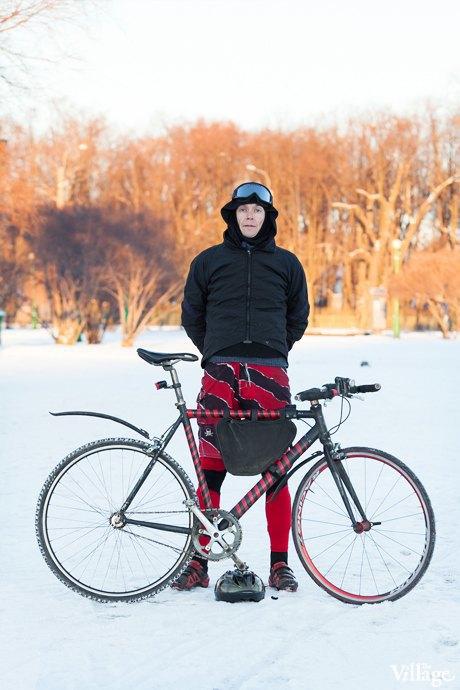 Люди в городе: Кто ездит зимой на велосипеде . Изображение № 10.