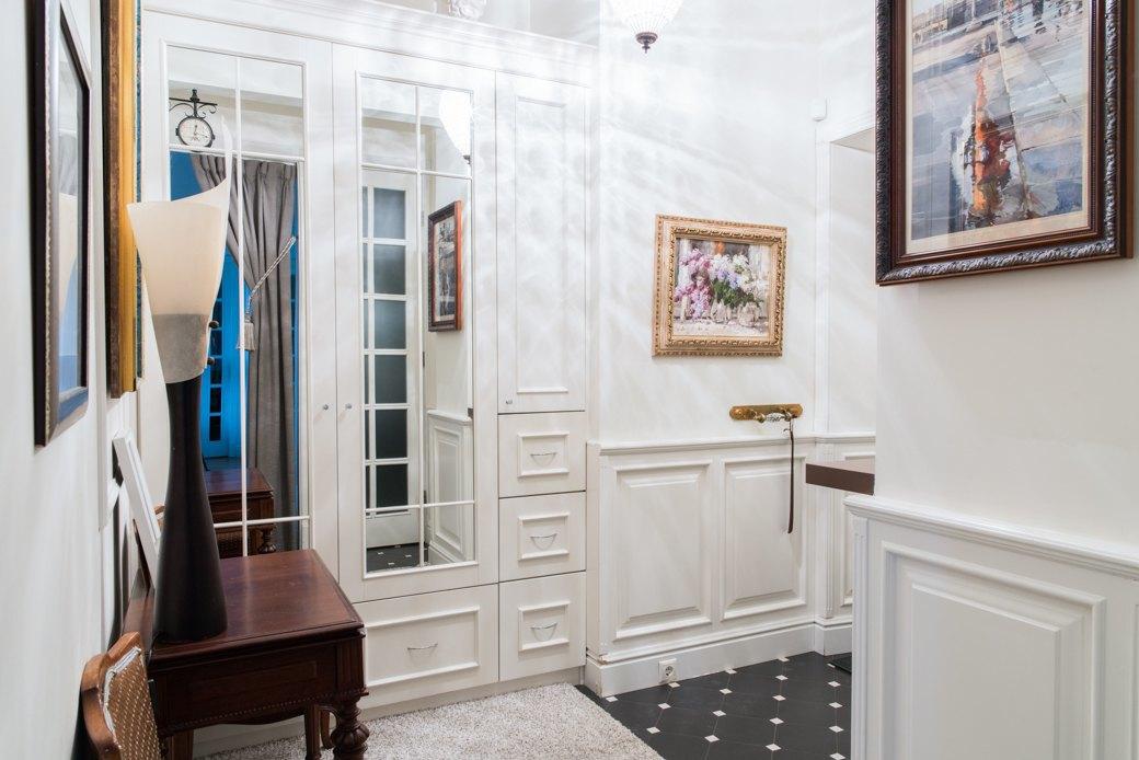 Квартира с антикварной мебелью ввысотке на Котельнической. Изображение № 13.