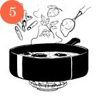 Рецепты шефов: Пенне ригате с мидиями и тыквой. Изображение № 8.