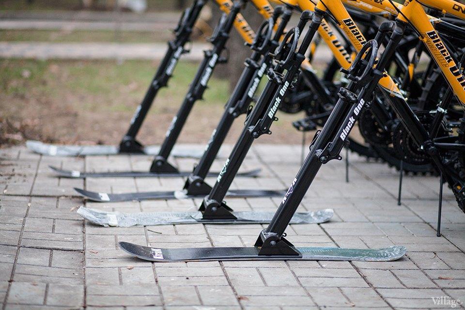 Фоторепортаж: Зимние велосипеды в «Сокольниках». Изображение № 2.