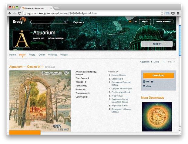 Ссылки дня: Самые популярные статьи «Википедии» за 2013 год, новые альбомы Mujuice и БГ. Изображение № 2.