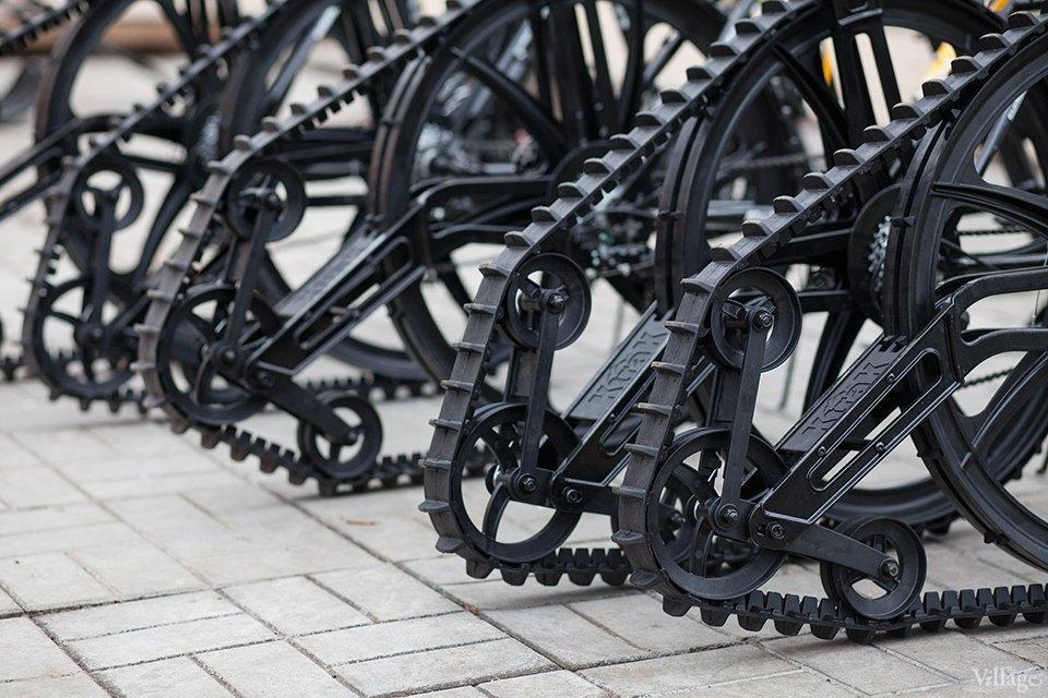 Фоторепортаж: Зимние велосипеды в «Сокольниках». Изображение № 5.