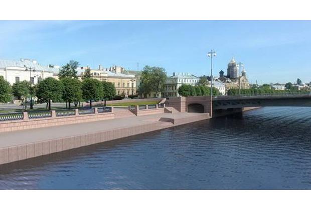 Власти согласовали проект Ново-Адмиралтейского моста. Изображение № 3.