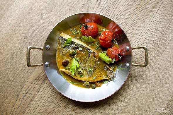 Дорадо с овощами и соусом «Биск». Изображение № 33.