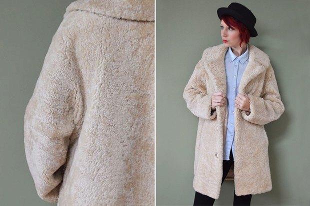 Куртка из искусственного меха спб