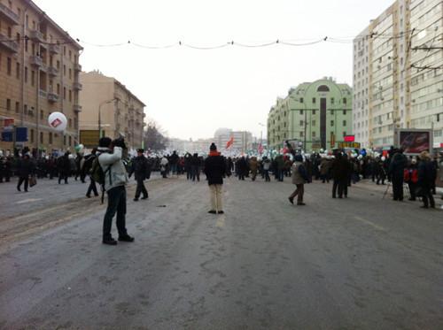 Онлайн-трансляция: Шествие и митинг «За честные выборы». Изображение № 72.
