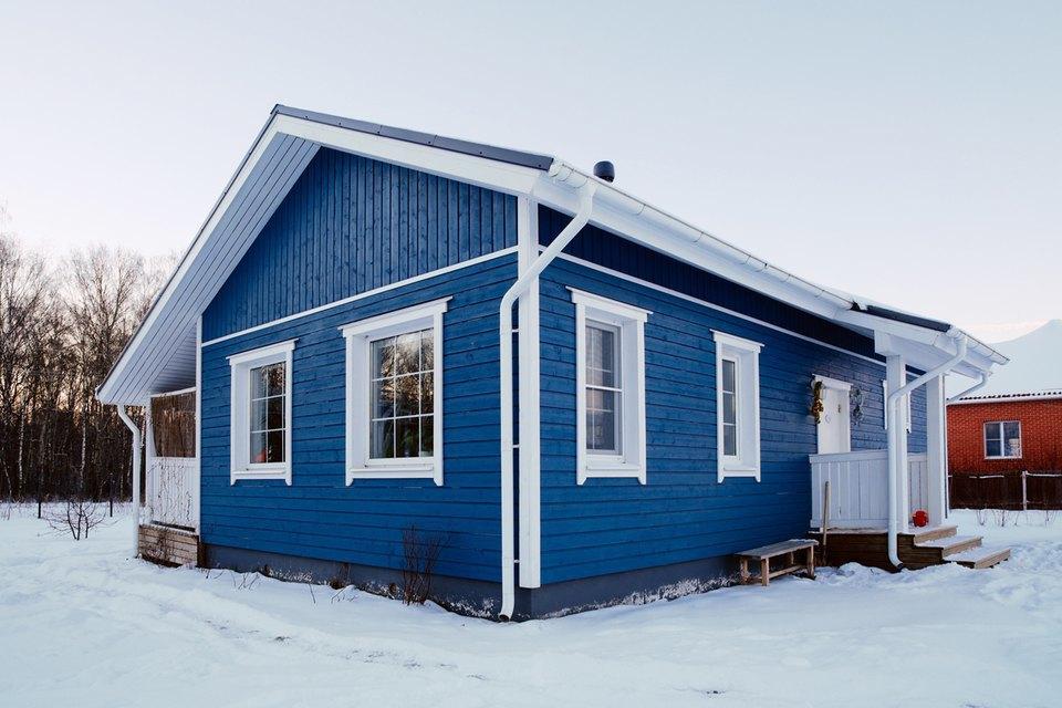 Загородный дом вскандинавском стиле. Изображение № 2.