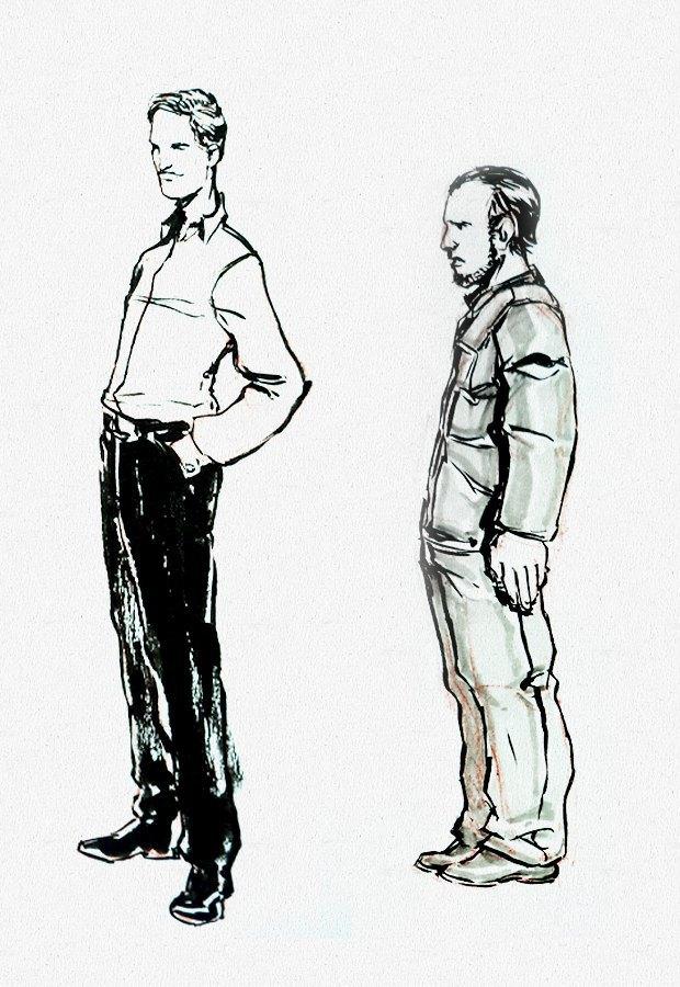 Клуб рисовальщиков: «Белая площадь». Изображение № 5.