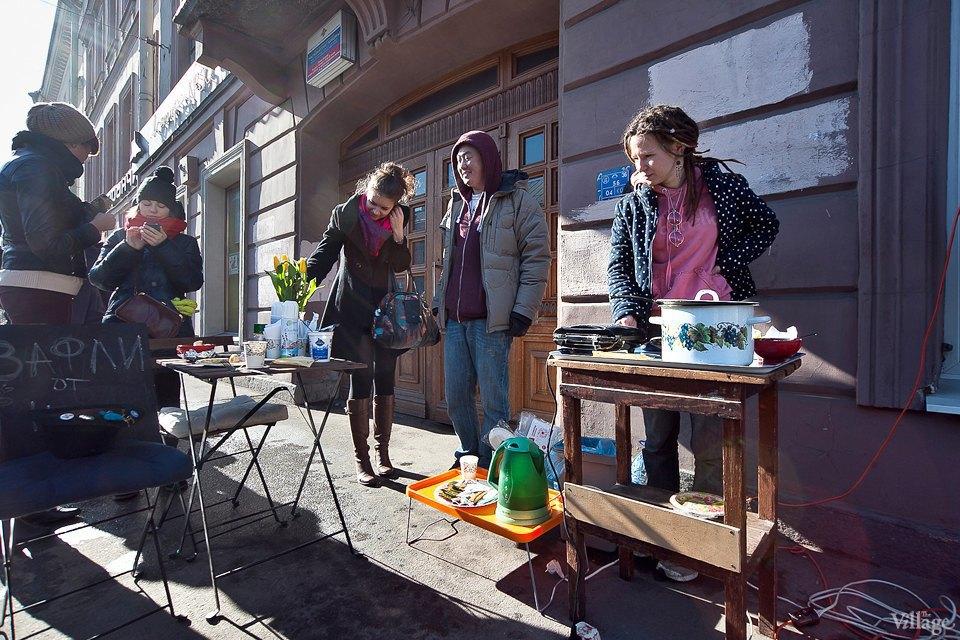 Фоторепортаж: Как открыть своё временное кафе на улице. Изображение № 6.