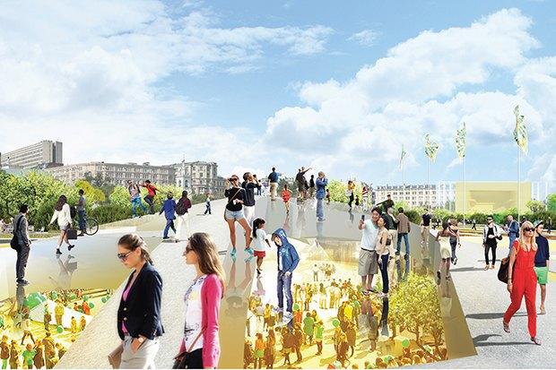 Парк в Зарядье: Проекты победителей и мнения экспертов. Изображение № 35.