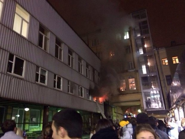 В «Этажах» на Лиговском произошел пожар. Изображение № 2.