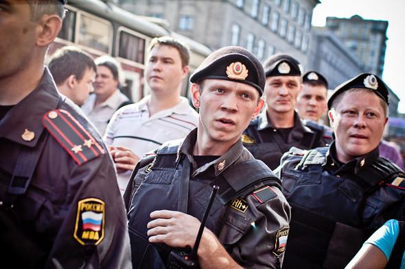 Изображение 12. Copwatch: действия полиции на митинге «Стратегии-31» на Триумфальной площади.. Изображение № 10.
