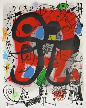Иллюстрации Пикассо, Дали и Миро в Пушкинском музее. Изображение № 12.