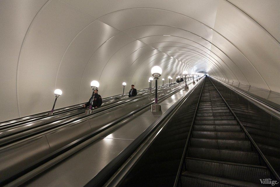 Фоторепортаж: Новый вестибюль «Спасской» изнутри. Изображение № 14.