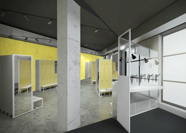 В городе открываются фитнес-клубы с кафе S-11 и интерьером братьев Архипенко. Изображение № 1.