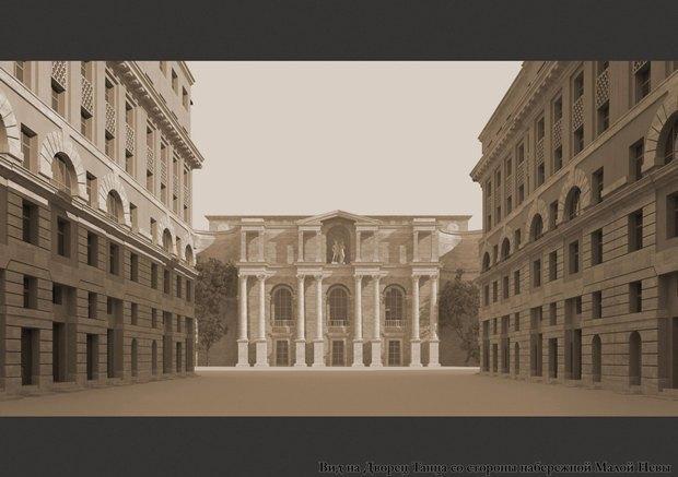 Проект квартала авторства «Архитектурной мастерской Максима Атаянца». Изображение № 4.