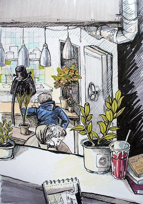Кафе Fruits & Veges. Изображение № 2.