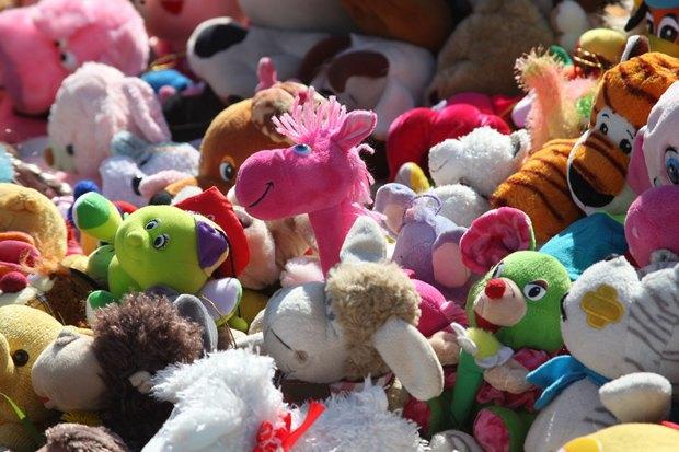 Сотни собранных для детей игрушек всквере наулице Циолковского. Изображение № 2.