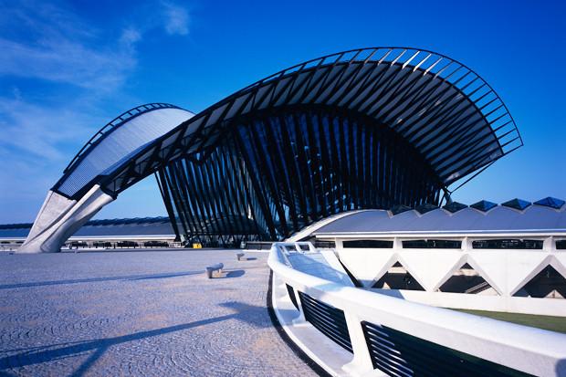 Железнодорожная станция аэропорта Сент-Экзюпери, Лион, Франция, 1989–1994. Изображение № 2.
