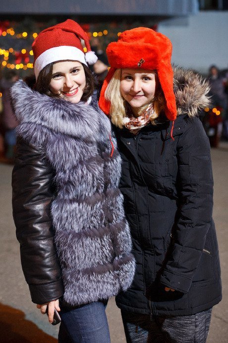 Люди в городе: Рождественская деревня ВВЦ. Изображение № 32.